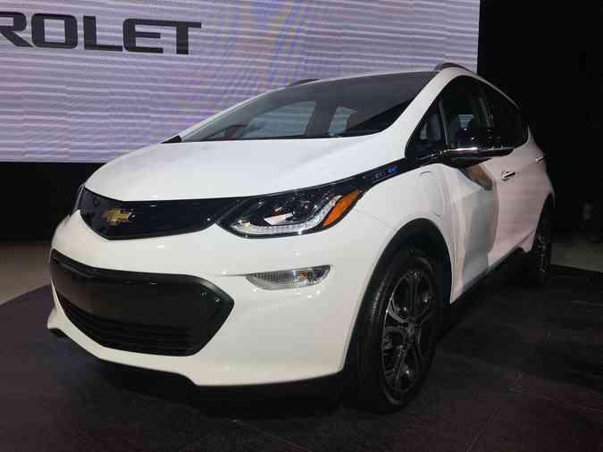Chevrolet Bolt é um das principais novidades do setor(foto: Jorge Moraes/DP)