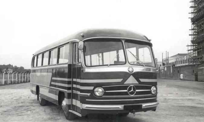 O 321 (ano 1958)Mercedes-Benz/Divulgação