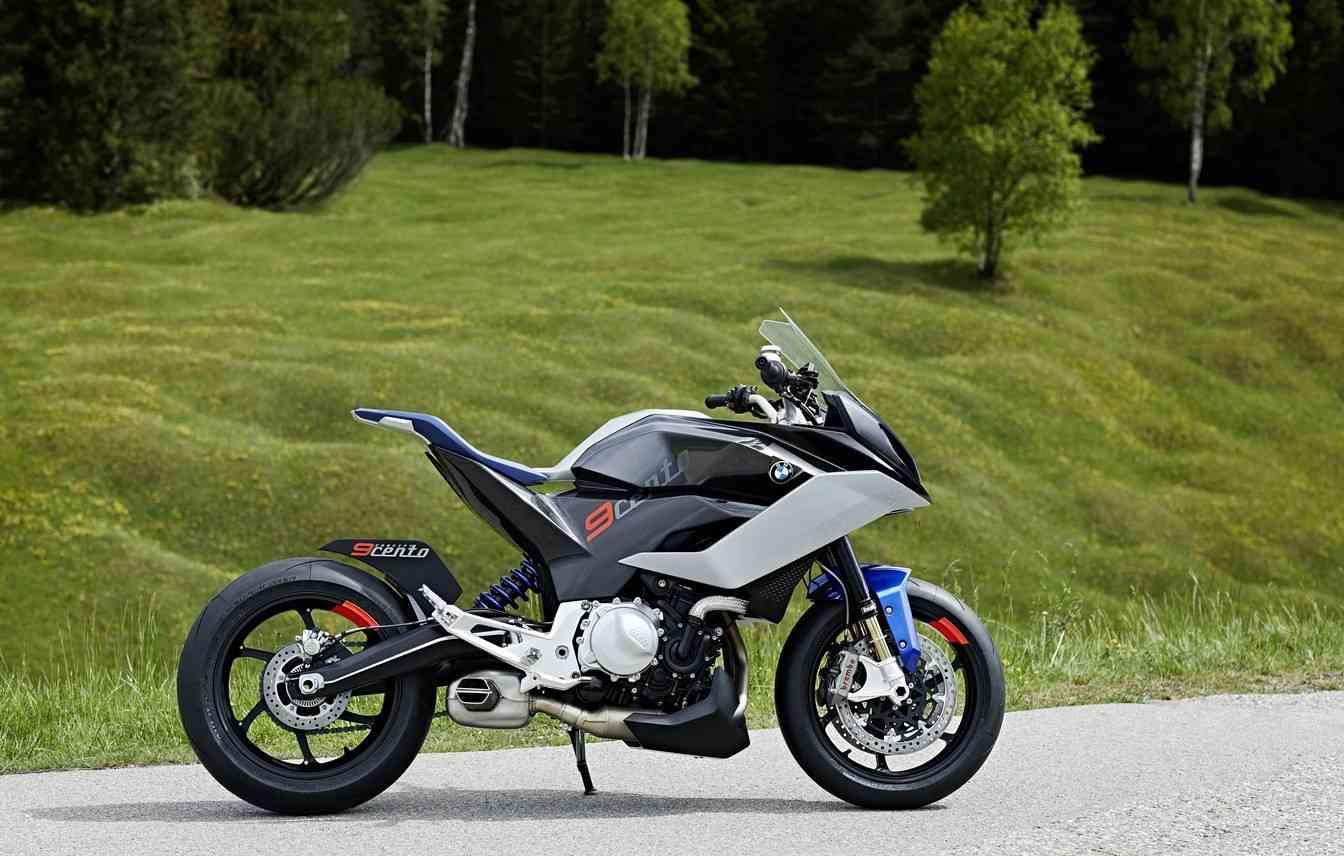 Com um design agressivo, o conceito da 9cento chega com possibilidades inéditas para a marca - BMW/ Divulgação