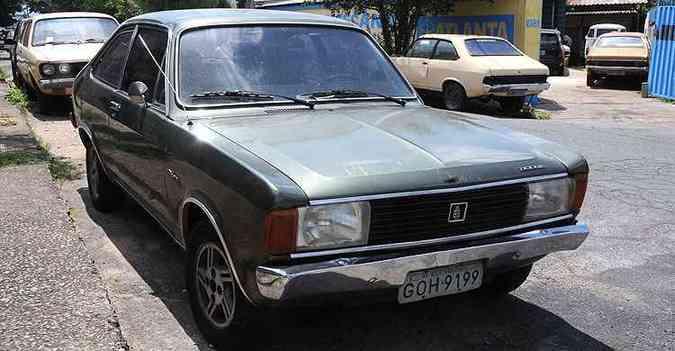 Lançado com o nome de 1.800 em 1973, o Dodginho passou a ser denominado Polara três anos depois(foto: Paulo Filgueiras/EM/D.A Press)