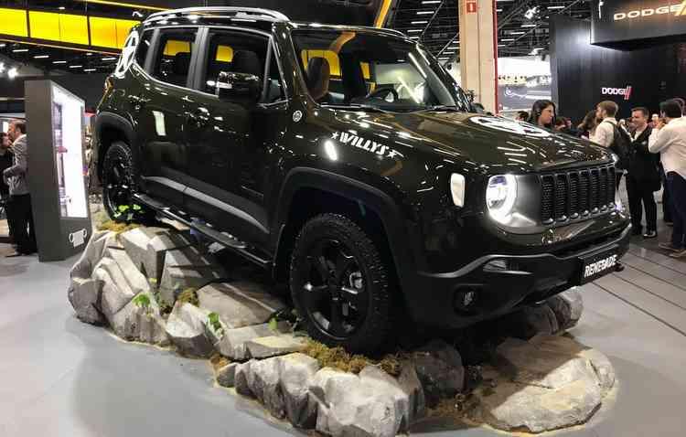 O Renegade Willys terá apenas 250 unidades disponíveis, com placa numerada - Jorge Moraes/ DP