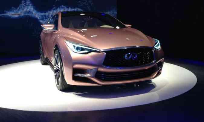 Modelo foi mostrado como Q30 Concept no Salão Internacional de Frankfurt de 2013(foto: Marcus Celestino/EM/D.A Press - 12/9/13)