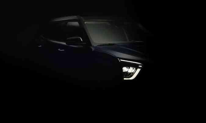 A nova geração do Hyundai Creta, modelo 2022, traz faróis full LED...(foto: Hyundai/Divulgação)