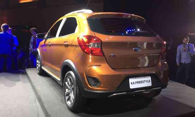 Ford mostra Ka Freestyle no Brasil