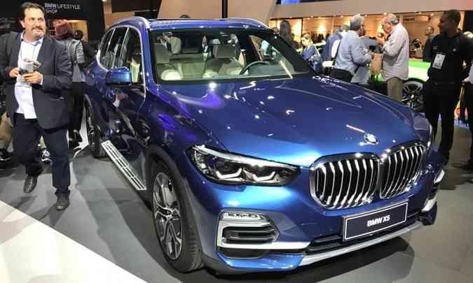 Nova geração do BMW X5(foto: Pedro Cerqueira/EM/D.A Press)