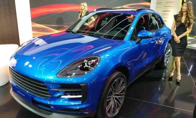 O SUV compacto Porsche Macan(foto: Pedro Cerqueira/EM/D.A Press)
