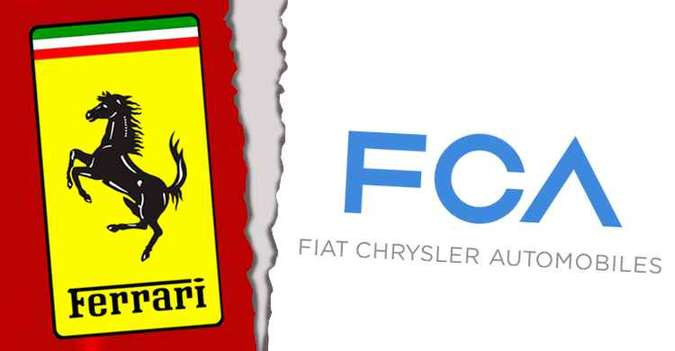 FCA agora é apenas acionista da Ferrari