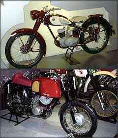 YA-1 125 cm³ de 1955 e TDS-1 250 cm³ de 1969 - Fotos: Téo Mascarenhas/EM - 15/1/07