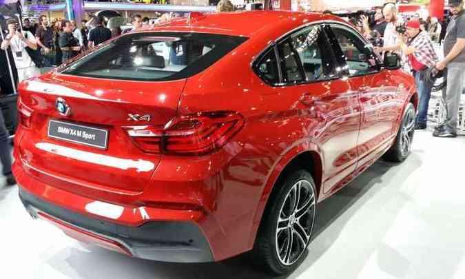 BMW X4(foto: Pedro Cerqueira/EM/D.A Press)