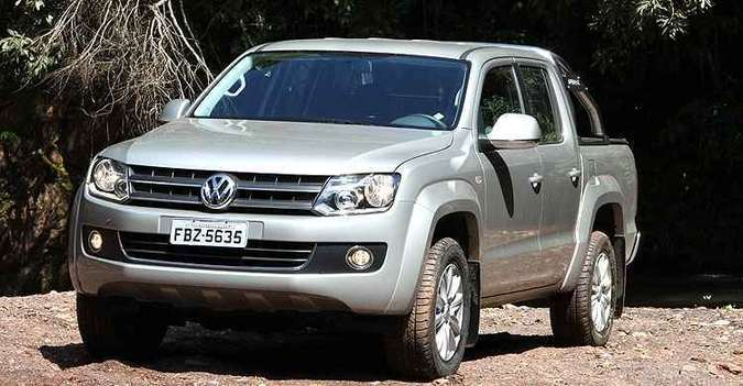 Volkswagen Amarok produzida entre 2011 e 2012 está envolvida no recall(foto: Marlos Ney Vidal/EM/D.A Press)