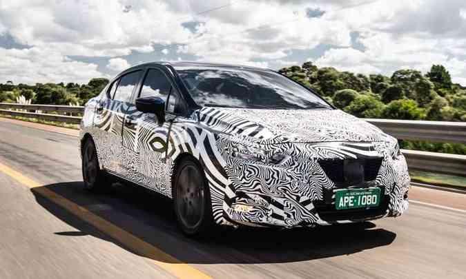 Os protótipos do novo Versa foram severamente testados em condições diversas no Brasil e em outros países da América Latina(foto: Nissan/Divulgação)