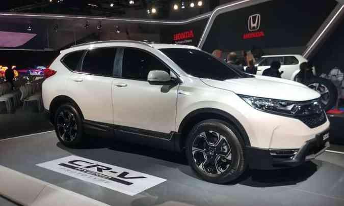 Versão híbrida do Honda CR-V só será lançada na Europa em 2019(foto: Pedro Cerqueira/EM/D.A Press)