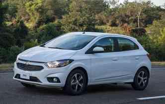 Onix continua na liderança dos veículos mais vendidos (foto: Chevrolet / Divulgação)