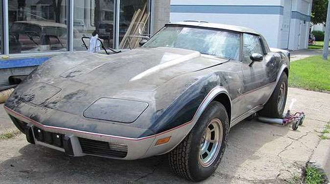 Entre os modelos, um Corvette 1978 Edição de Aniversário...(foto: Divulgação)