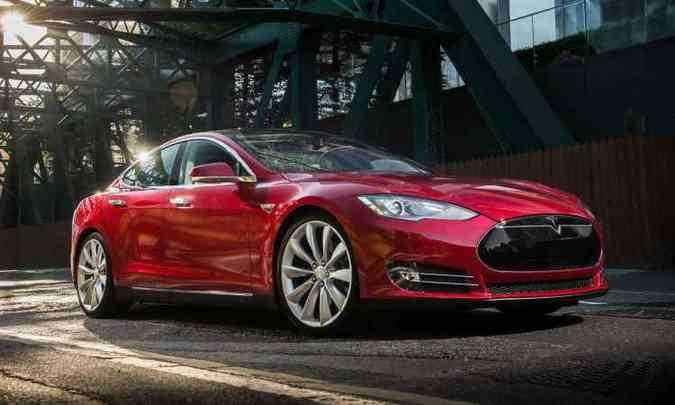 Tesla Model S(foto: Tesla/Divulgação)
