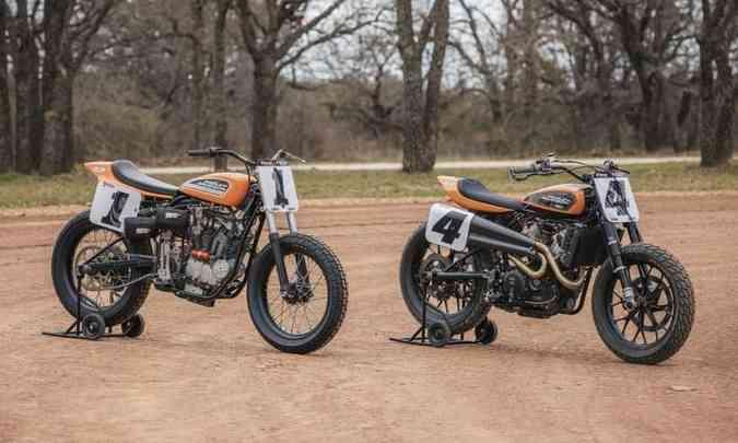 As duas gerações, separadas por meio século(foto: Harley-Davidson/Divulgação)
