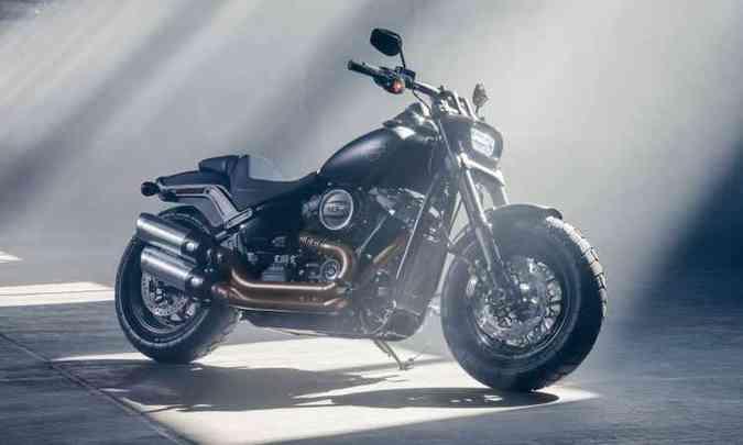 O farol tem formato inédito, do tipo oval achatado(foto: Kevin Netz/Harley-Davidson)