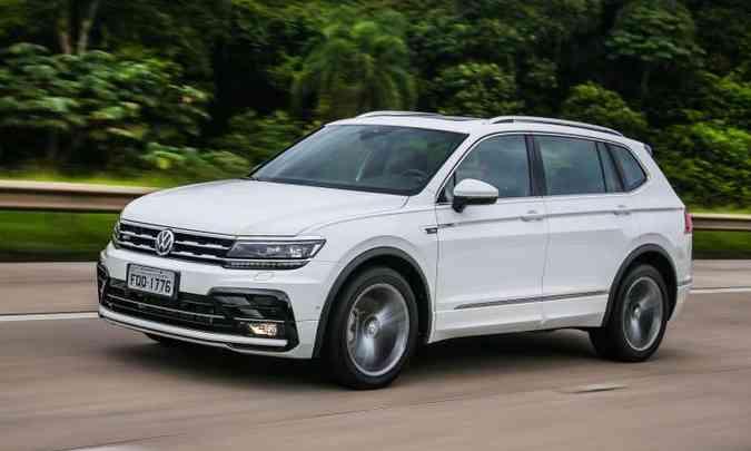 Volkswagen Tiguan passa por reestilização e ganha versão de sete lugares(foto: Volkswagen/Divulgação)
