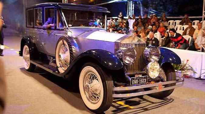 BEST OF SHOW: Rolls Royce - Silver Springfields 1923(foto: Fiat/Divulgação)