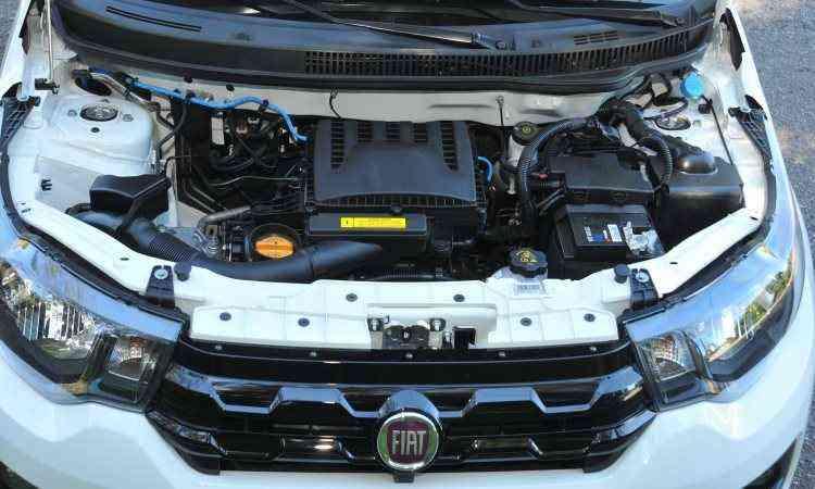 Novo motor 1.0 de três cilindros da família Firefly combina bom desempenho e baixo consumo de combustível -  Jair Amaral/EM/D.A Press