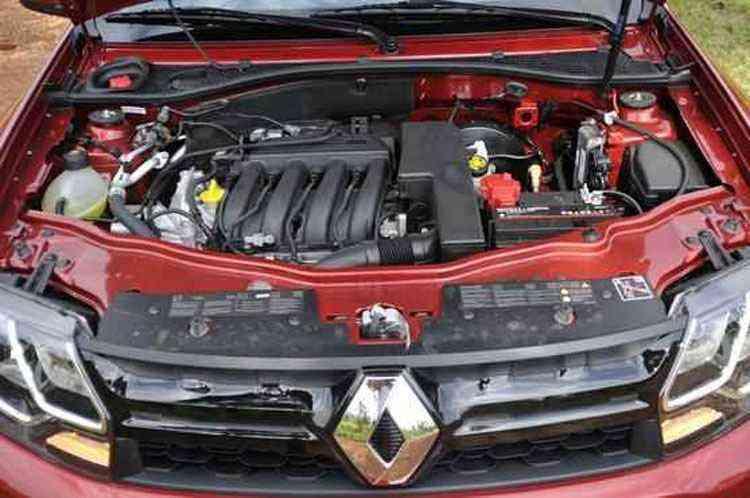 O motor 1.6 tem potência e torque limitados - Juarez Rodrigues/EM/D.A Press