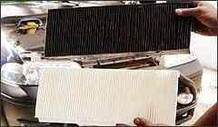 Quem passa por vias com poeira ou poluídas deve trocar o filtro de ar freqüentemente - Eduardo Rocha - 17/10/03