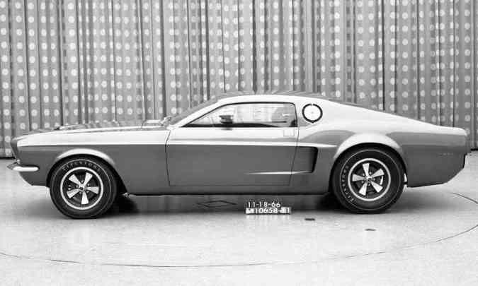 1966: Mach I Concept(foto: Ford/Divulgação)