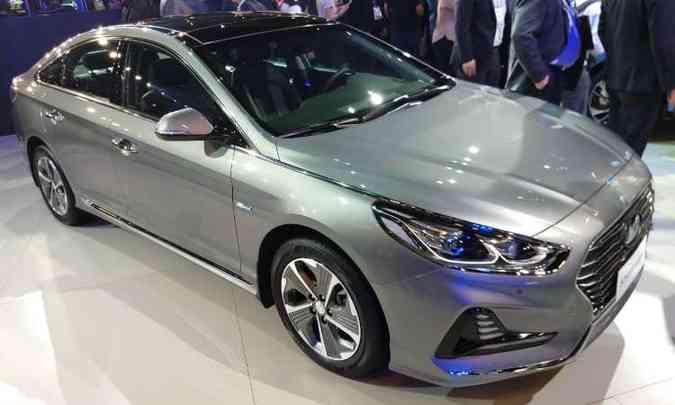 Hyundai Sonata Híbrido(foto: Pedro Cerqueira/EM/D.A Press)
