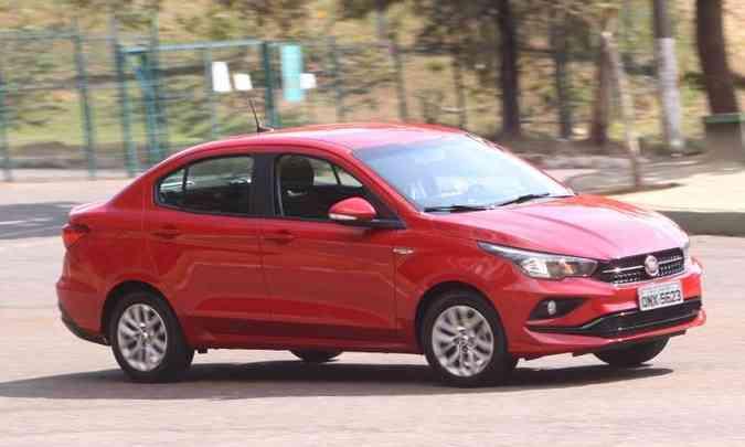 Fiat Cronos tem o preço como atrativo(foto: Jair Amaral/EM/D.A Press)