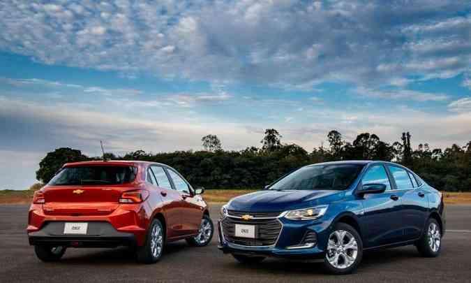 O lançamento do Onix hatch fica comprometido com o problema registrado no motor(foto: Chevrolet/Divulgação)