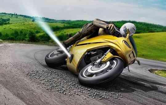 O jato de ar é acionado ao perceber deslizamento na pista - Bosch/ Divulgação