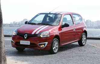 Clio deixará de ser produzido para dar lugar ao Kwid(foto: Renault / Divulgação)