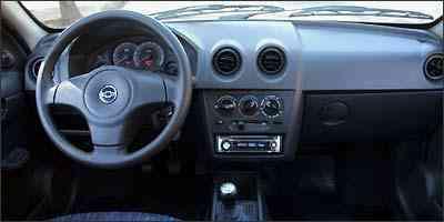 Acabamento interno é um dos pontos fracos do hatch da GM - Marlos Ney Vidal/EM/D.A Press - 29/07/2009