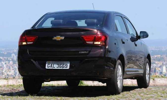 Chevrolet Cobalt Elite(foto: Euler Junior/EM/D.A Press)