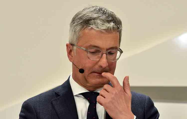 Volkswagen declarou que prisão é temporária. Foto: Christof Stache / AFP -