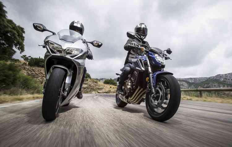 Motos tipo Sport Touring - Michelin/ Divulgação
