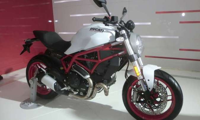 Ducati Monster 797(foto: Téo Mascarenhas/EM/D.A Press)
