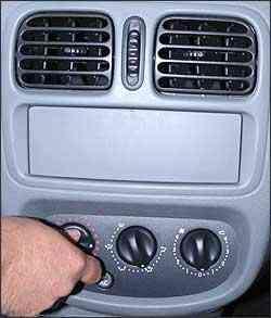 Se o motor der sinais de que vai ferver, basta ligar o sistema de aquecimento do ar - Marlos Ney Vidal/EM - 29/12/05