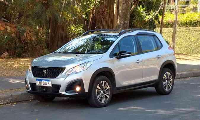 Primeira reestilização do Peugeot 2008 foi em 2019(foto: Pedro Cerqueira/EM/D.A Press)