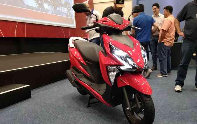 Elite é o novo modelo da Honda que chega no Brasil. FOTO: Débora Eloy / DP(foto: Elite é o novo modelo da Honda que chega no Brasil. FOTO: Débora Eloy / DP)