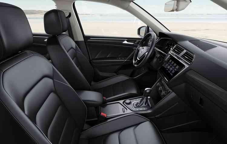 Novo Tiguan será fabricado na planta de Puebla, no México, e chega às lojas em abril. Foto: Volkswagen / Divulgação -