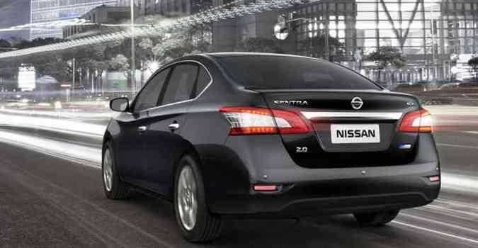 Senadores vão rodar de Nissan Sentra zerinho (foto: Nissan/Divulgação)