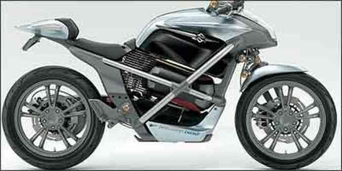 Crosscage usa tecnologia de célula a combustível, a partir do hidrogênio, para alimentar baterias de lítio, movimentando a moto