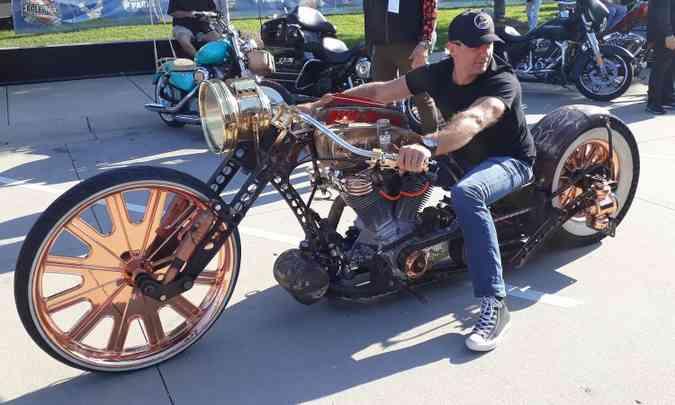 Rodas de aro 30 polegadas nem sempre têm lugar para o freio(foto: Téo Mascarenhas/EM/D.A Press)