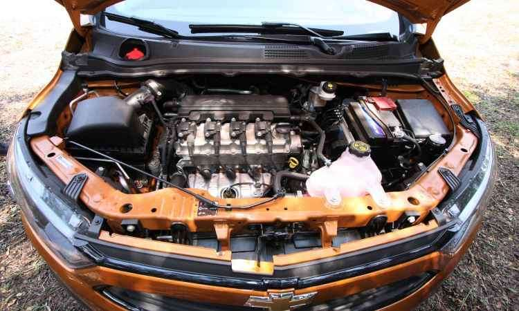 Motor 1.4 flex proporciona bom desempenho, com arrancadas e retomadas ágeis - Edésio Ferreira/EM/D.A Press