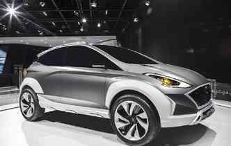 Hyundai Saga, apresentado no ano passado, reservas várias características do novo HB20. Foto: Hyundai / Divulgação