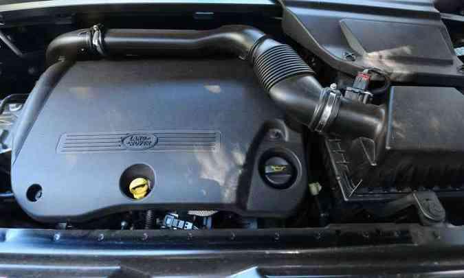 Motor turbodiesel de 190cv garante bom desempenho(foto: Euler Junior/EM/D.A Press)