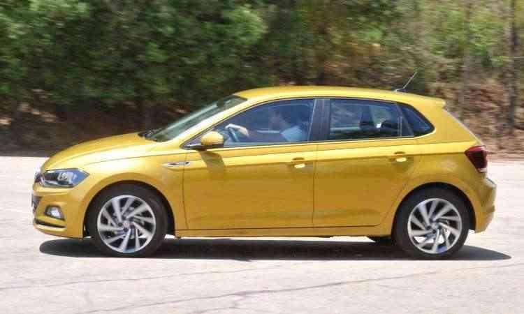 VW Polo chegou ao mercado em outubro e teve 9.531 unidades vendidas em 2017 - Jair Amaral/EM/D.A Press