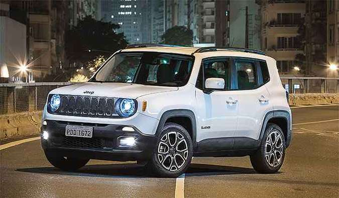 Jeep Renegade vendeu 2.500 unidades e se aproxima de Eco e Duster(foto: Jeep/Divulgação)