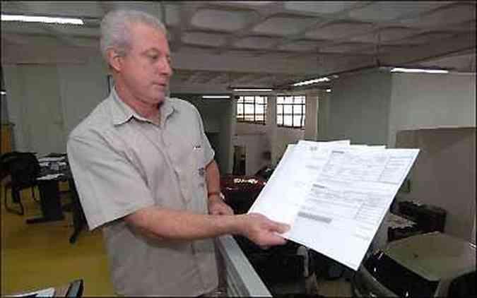 Marcelo Maria tem que arcar com prejuízo por pendências em veículos de sua agência(foto: Beto Novaes/EM/D.A Press)